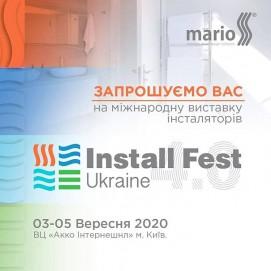 IV-а міжнародна виставка Install Fest Ukraine | Рушникосушарки Марио