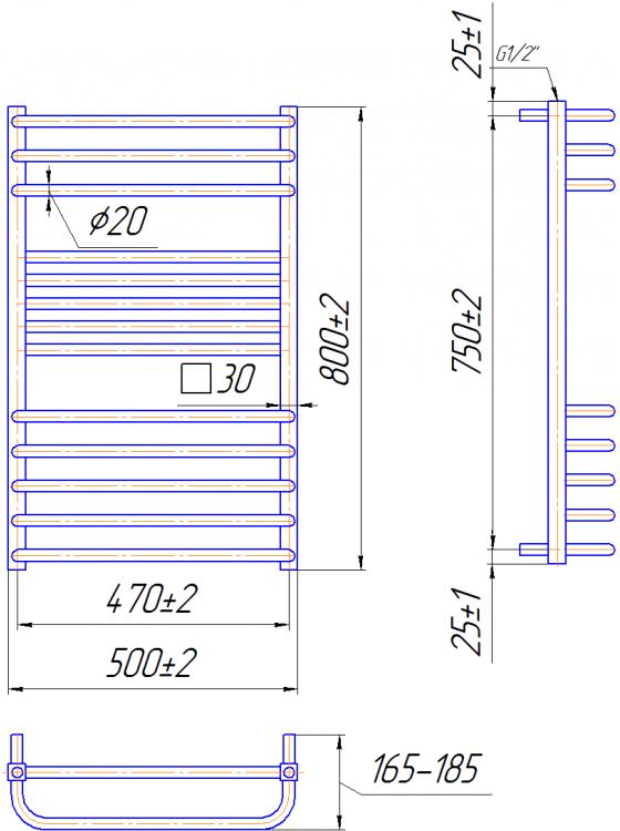 Купити Гера-Люкс 800x500/470