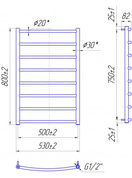 Купити Класік HP 800x530/500