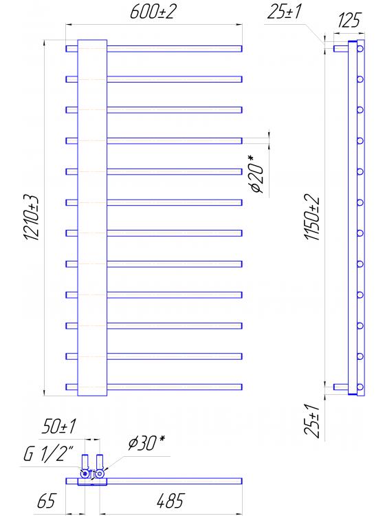 Купити Комфорт 1210x600/50