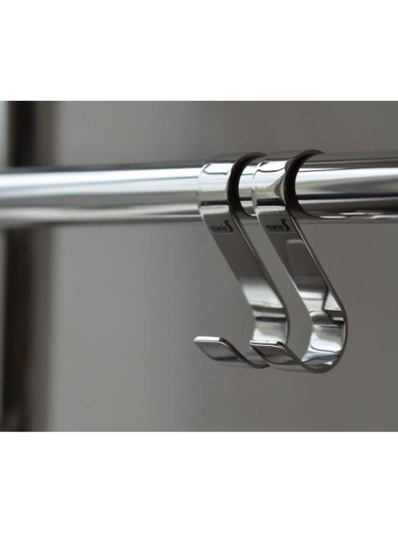 Купить Крючок навесной 28x60 мм